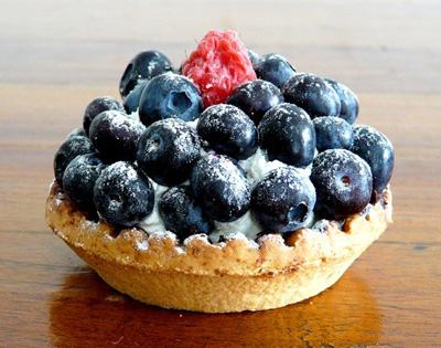 Blueberry No-Bake Pie