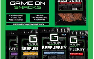 Game On Beef Jerky Order-Taker Fundraiser