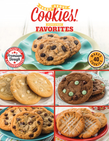 Cookie Dough Scoop and Bake Tubs Brochure