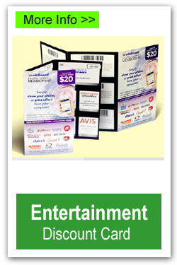 Entertainment Discount Card