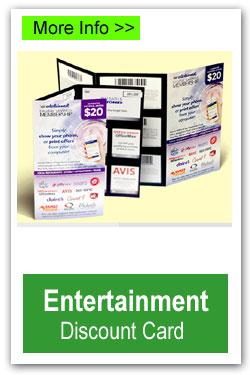 Entertainment Discount Card