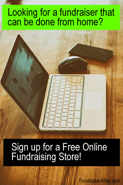 Looking for a fundraiser that can be done from home? Sign up for a free online fundraising store!