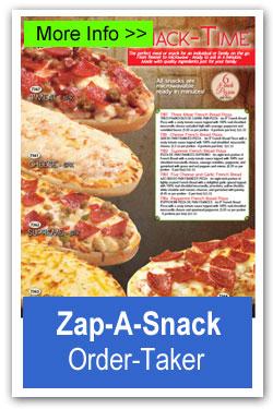 Zap-A-Snack Pizza
