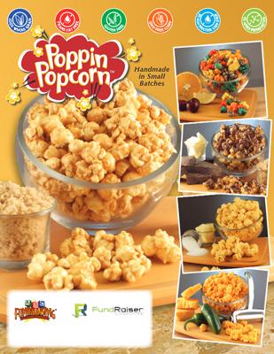 Gourmet Popcorn Order-Taker Fundraiser