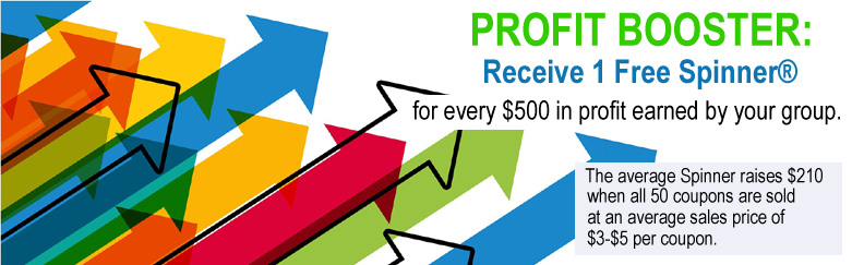 Profit Booster - Receive 1 free Spinner for every $500 earned!