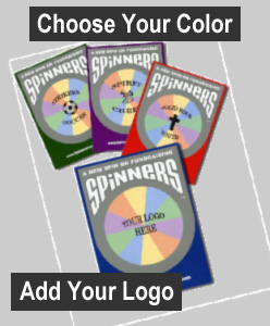 Spinners - Choose Your Color, Add Your Logo