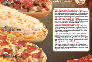 Pizza Snack Order-Taker Fundraiser