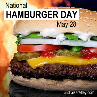 National Hamburger Day, May 28