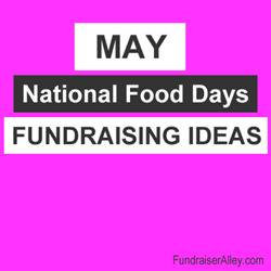 May National Days Fundraising Ideas