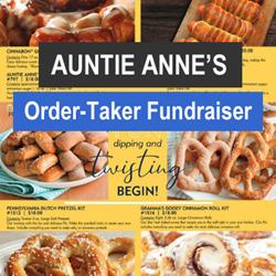 Auntie Anne's Pretzel Order-Taker Fundraiser
