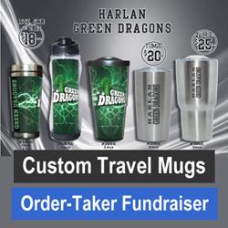 Custom Travel Mugs Order-Taker Fundraiser