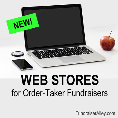 New! Web Stores for Order-Taker Fundraisers