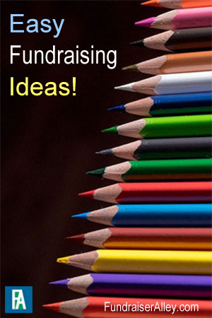 Fundraiser Alley - Easy Fundraising Ideas!