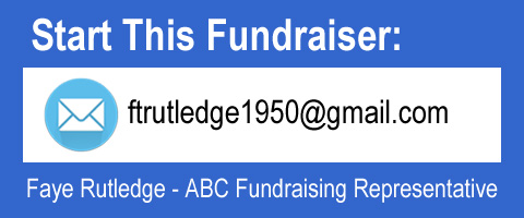Start This Fundraiser, email ftrutledge1950 at gmail.com