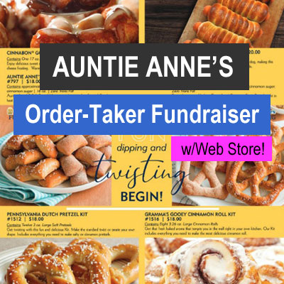Auntie Annes Pretzels Order-Taker Fundraiser
