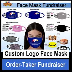Custom Logo Face Mask Fundraiser