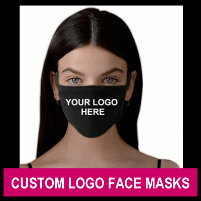 Custom Logo Face Masks