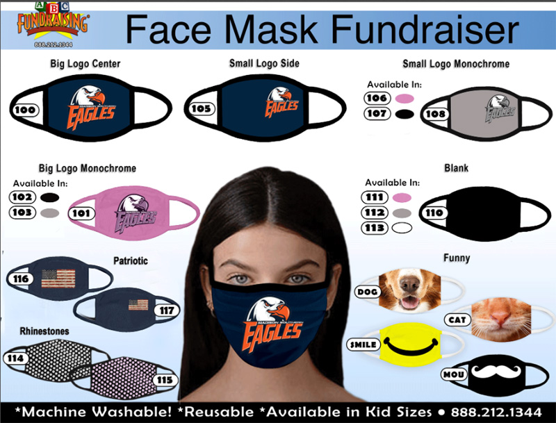 Custom Face Mask Order-Taker Brochure