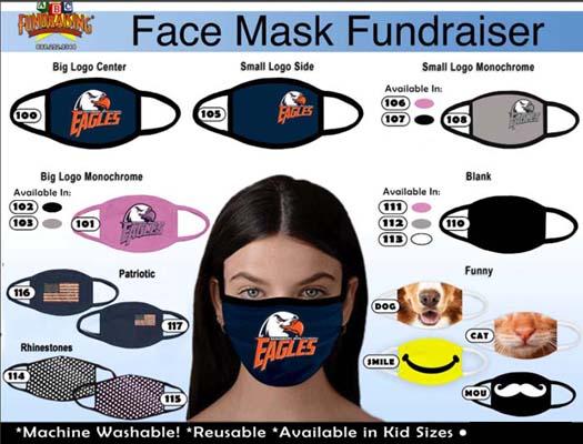 Custom Logo Face Masks Fundraiser