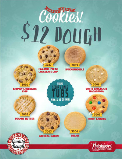 $12 Dough Order-Taker Brochure