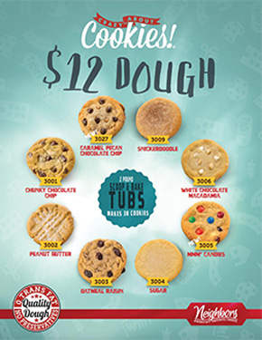 $12 Cookie Dough Tubs Fundraiser
