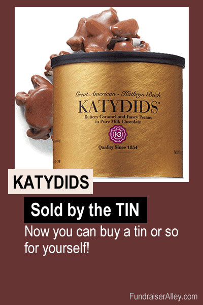 Katydids Candy, Sold by the Tin, Buy a tin or so for yourself!