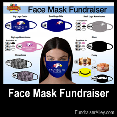 Custom Face Mask Fundraiser