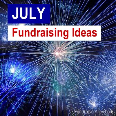 July Fundraising Ideas