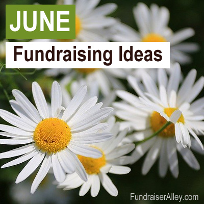 June Fundraising Ideas