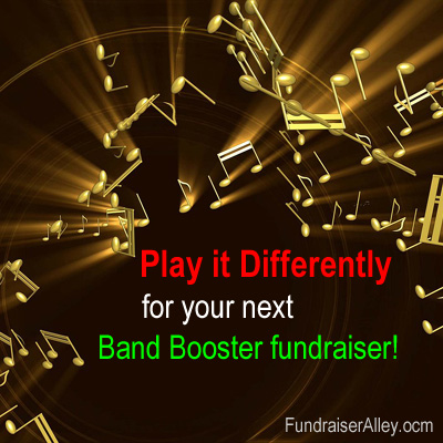 Play it Differently for your nex Band Booster fundraiser!