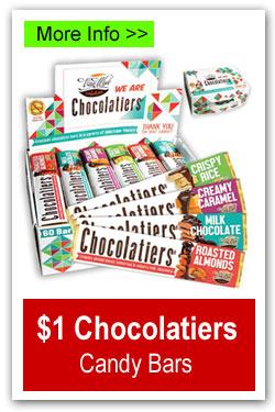 $1 Chocolatiers Candy Bars Fundraiser