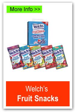 Welchs Fruit Snacks Fundraiser