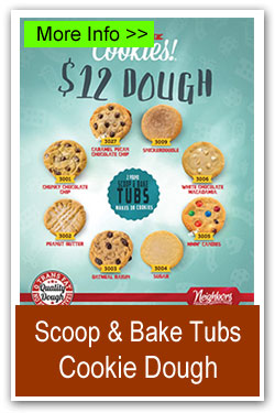 Scoop & Bake Tubs Cookie Dough Fundraiser