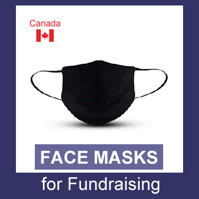 Face Masks for Fundraising (Canada)
