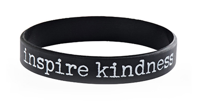 Inspire Kindness Wristbands for Fundraising