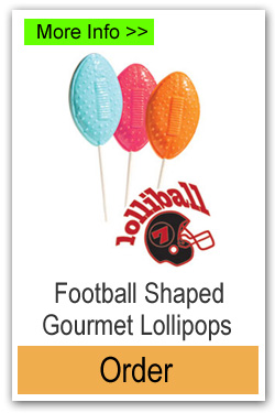 Football Lollipops - More Info/Order Online