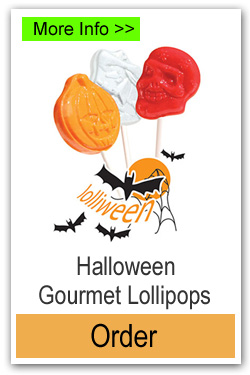 Halloween Lollipops - More Info/Order Online