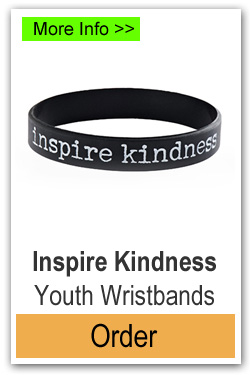 Order Youth Size Inspire Kindness Wristbands