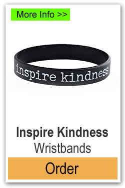 Order Adult Size Inspire Kindness Wristbands