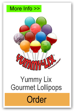Yummy Lix Lollipops - More Info/Order Online