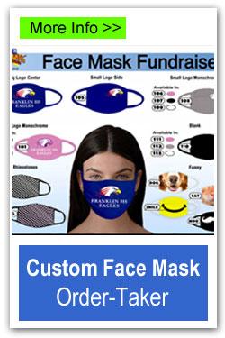 Custom Face Mask Order-Taker
