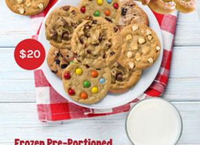 Cookie Dough and Pretzels Fundraiser