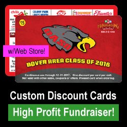 Custom Discount Cards
