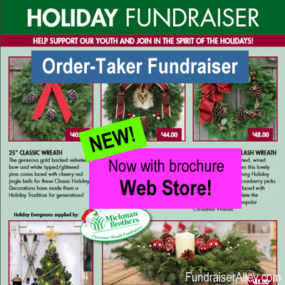 Holiday Order-Taker Fundraiser with Web Store
