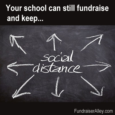 Your School Can Still Fundraiser and Keep Social Distance
