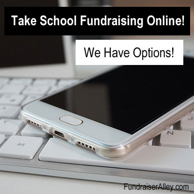 Take School Fundraising Online