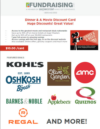 Dinner and Movie Order-Taker Brochure