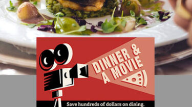 Dinner and Movie Discount Card - High Profit Fundraiser