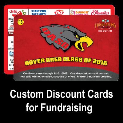Custom Discount Card Fundraiser