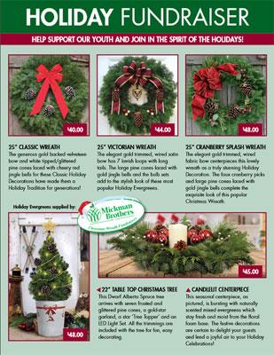 Holiday Order-Taker Fundraiser